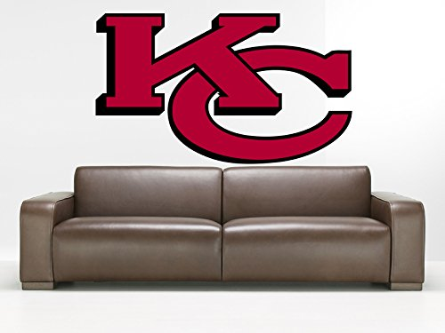 Kansas City Chiefs sticker, Kansas City Chiefs sticker,