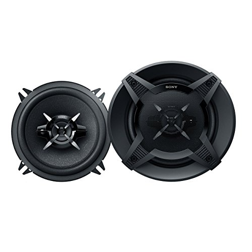 Sony XSFB1330 5.25-Inches 240 Watt 3-Way Car Audio Speakers, 1 pair (Black) by Sony
