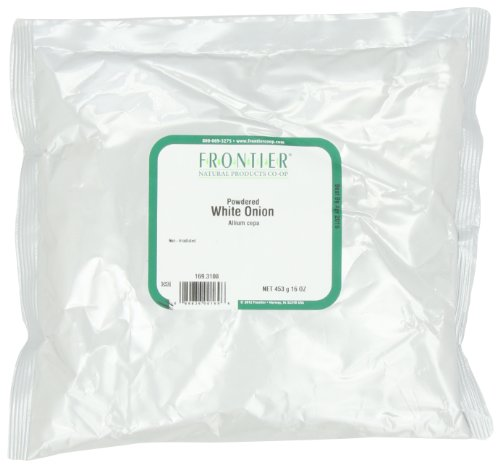 Price comparison product image Frontier Onion, White Powder, 16 Ounce Bags (Pack of 2)