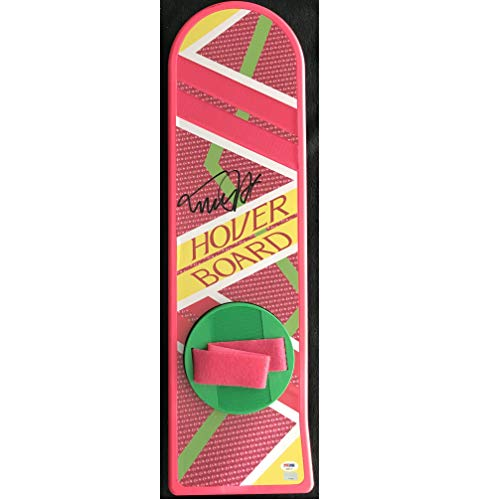 Michael J. Fox Signed Back to the Future II Hover Board Replica Movie Prop Marty McFly PSA/DNA 28