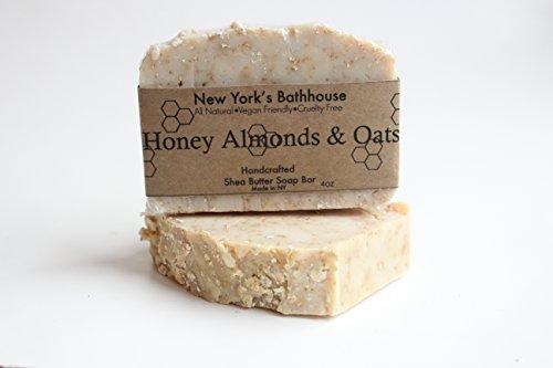 Tangerine Almond - 5pc Soap Bar Set- Lavendar,Tangerine Lemongrass, Spearmint, Honey Almonds & Oats Soap Bar