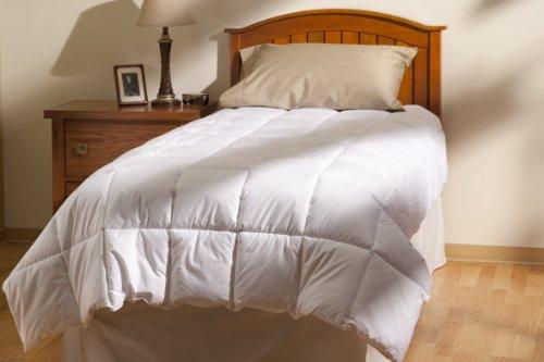 Aller-Ease 100% Cotton Allergy Comforter, Full/Queen, White ()
