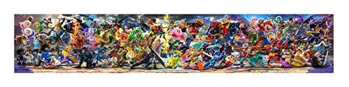Super Smash Bros Ultimate Game Final Bannner Print 12x65 18x97 24x130 32x174 (24