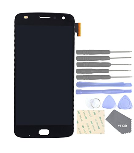 VEKIR Touch Display Digitizer Screen Replacement for Motorola Moto Z2 Play XT1710-01 XT1710-07 XT1710-10 XT1710-08(Black) by VEKIR