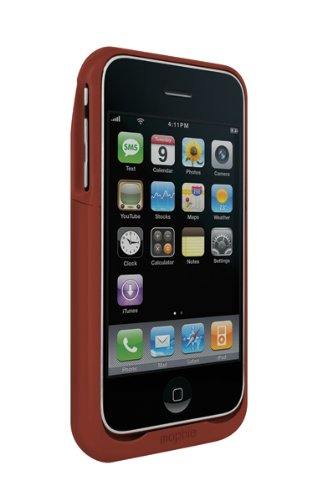 Mophie Juice Pack Air, case and rechargeable battery for iPhone 3G, 3GS (Red)