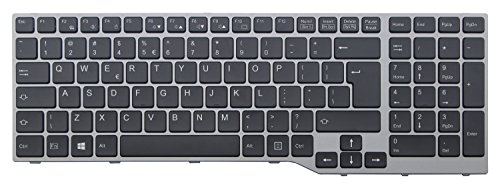 CHNASAWE Laptop US Backlit Keyboard for Fujitsu Lifebook E753 E754 ()