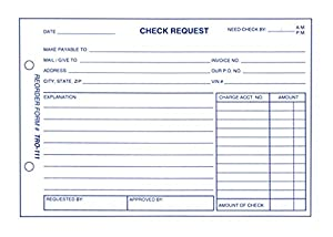 Perfect Check Request Form