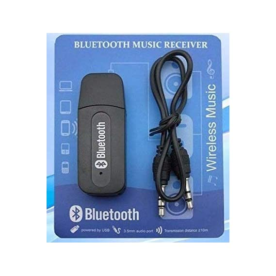 Geeky Bluetooth Stereo Adapter Audio Receiver