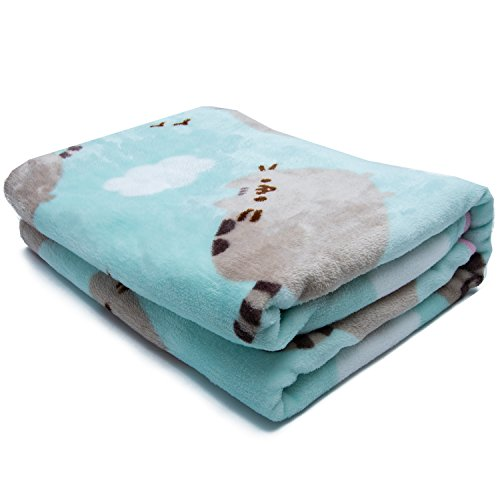 Pusheen The Cat Soft Fleece Blanket Officially Licensed Pusheen Unique Pusheen Purrfect Weekend Throw Blanket