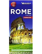 Michelin Rome City Map - Laminated