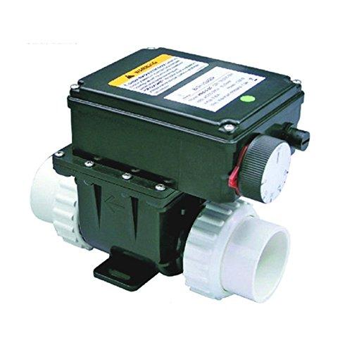 Elektroheizer, Durchlauferhitzer 230V, 3KW regelbar 0-45°C für Whirlpool und Badezuber