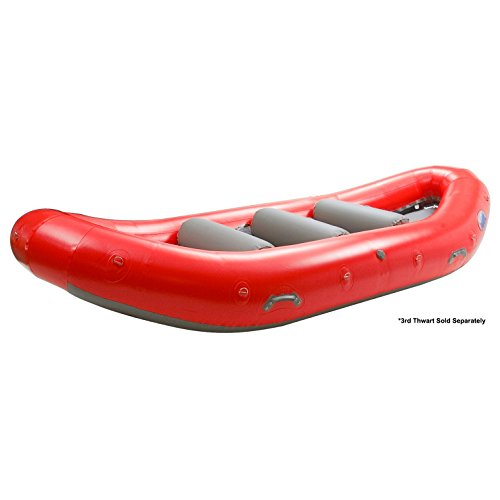 (AIRE Super Duper Puma Self-Bailing Raft-Red)