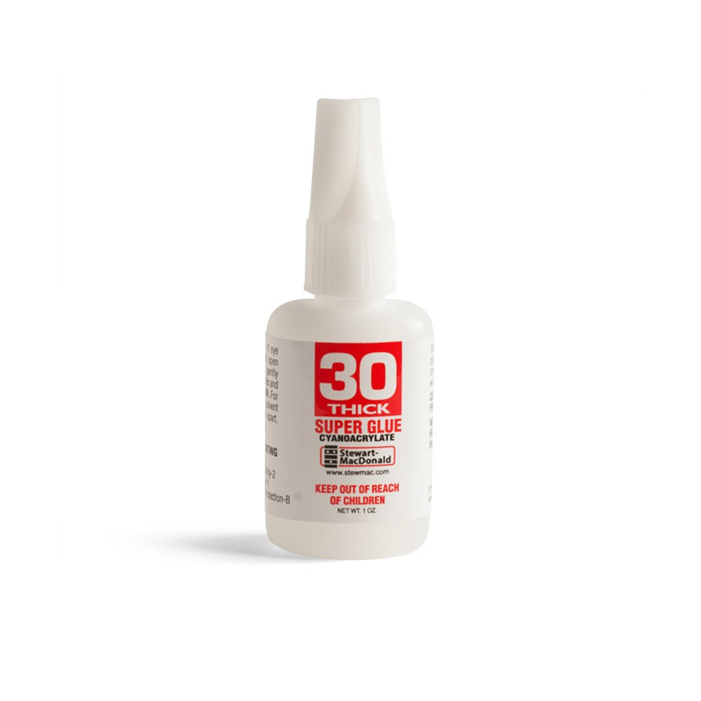 StewMac Super Glue, 30 Thick, 1 oz.