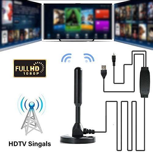 100 Miles Range Indoor 4K 1080P Digital HD TV Antenna Signal