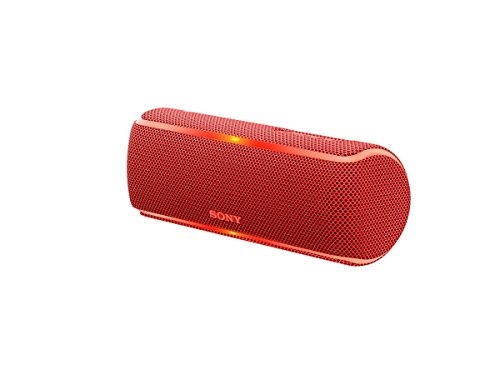 Sony SRS-XB21 Portable Wireless Bluetooth Speaker, Red (SRSXB21/R)