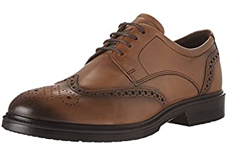 "Brown men's ""Derby"" shoes"