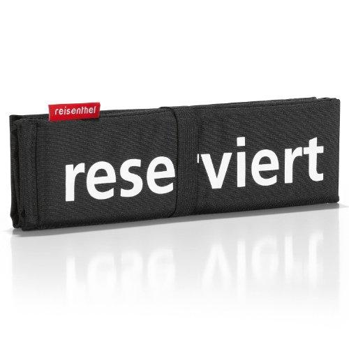 reisenthel Seatpad, Sitzkissen, Stuhlkissen, Kissen, Schwarz, SM0050