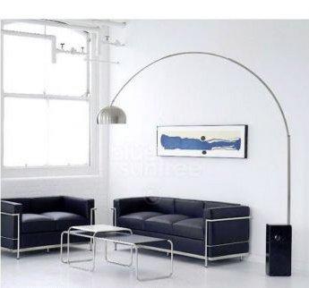 Lampe Arco Pied En Marbre Noir Design Neuve Livraison Gratuite