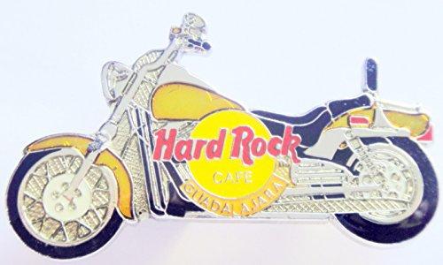 Hard Rock Cafe Pin Motorcycle - 1998 Motorcycle Gold Fenders Pin Hard Rock Cafe Guadalajara
