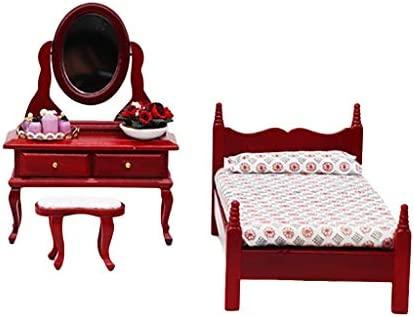 Duquanxinquan Dollhouse Families Master Bedroom: Amazon.es ...