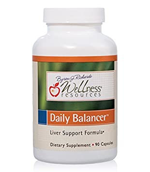 Daily Balancer with Silymarin, Dandelion, RA Lipoic Acid, NAC and more for Detoxification and Liver Support