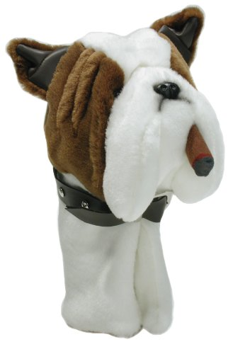 ProActive Sports Zoo Animals Plush Bulldog With Cigar 460 cc Golf Club Headcover (Bulldog Headcover compare prices)