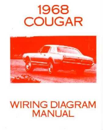 1968    Mercury       Cougar    Electrical    Wiring       Diagrams    Schematics Manual Book Factory  Software