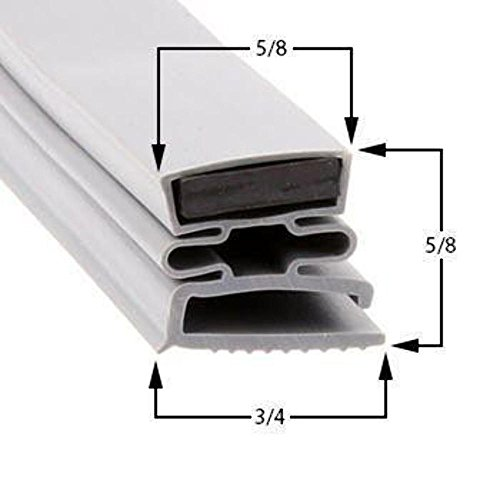 Price comparison product image Dunhill 12 3 / 4 x 33 3 / 4 Magnetic Door Gasket Cooler / Freezer