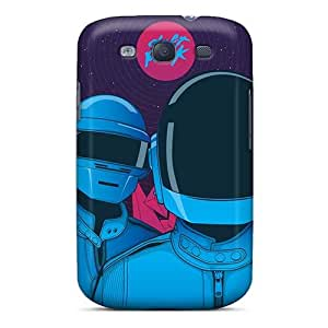 Samsung Galaxy S3 BfV9905iBrO Customized Trendy Daft Punk Band Image Bumper Cell-phone Hard Covers -CristinaKlengenberg