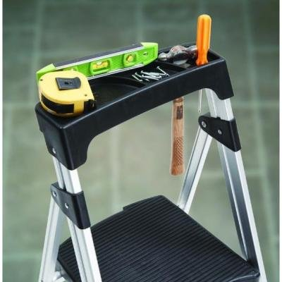 4-Step Ultra-Light Aluminum Step Stool Ladder with 225 lb. Load Capacity by Gorilla Ladders (Image #1)
