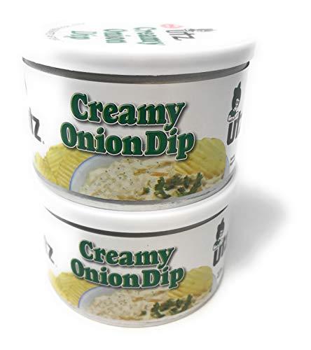 Utz Creamy Onion Dip 8.5 oz. Can (2 Cans)
