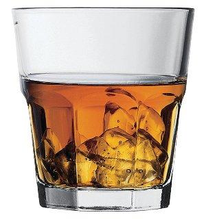 Pasabahce 52705 Glasbecher Casablanca 270 ml 12er Set Wasser glas Whiskygläser