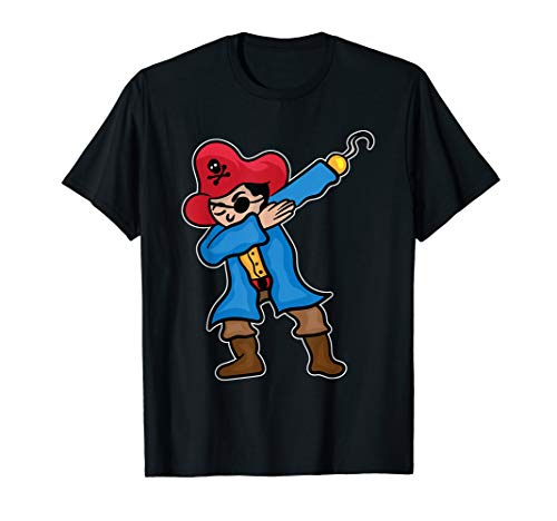 Funny Dabbing Pirate Shirt Gift For Pirate Costum Lover ()