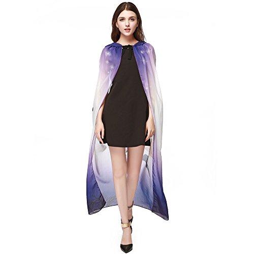 (Halloween Costumes For Women, Pervobs Women Novelty Pumpkin Shawl Chiffon Cape Scarf Halloween Poncho Shawl Wrap(Free,)
