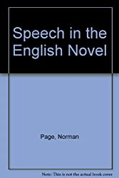 Speech in the English Novel