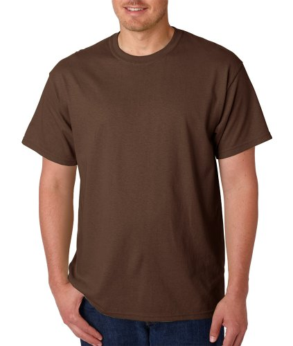 Gildan Adult Heavy Cotton T-Shirt - Dark Heather - L