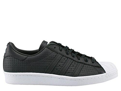 adidas Superstar 80s Woven Herren Sneaker Schwarz Schwarz