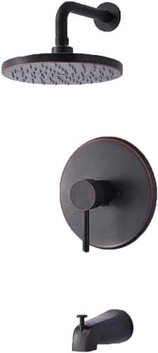 Hardware House 135474 Bridgeport Series Single Handle Tub Shower Mixer