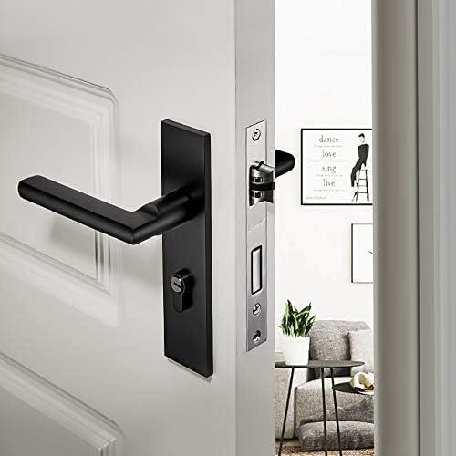 MSer Aluminio Tirador de Puerta con Llave Cerradura, Pomos para ...