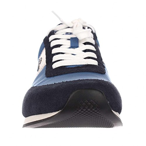 Coach Womens Raylen Leather Low Top Lace Up Fashion Sneakers, Blue, Size 5.0 by Coach (Image #3)