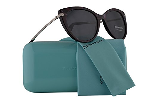Tiffany & Co. TF4143B Sunglasses Red Shell w/Grey Lens 55mm 82013F TF4143-B Tiffany&Co. TF 4143B TF - Frames Ophthalmic Tiffany