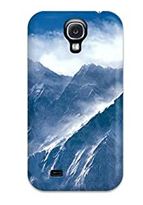 New Fashion Premium Tpu Case Cover For Galaxy S4 - Nice Icy Peaks