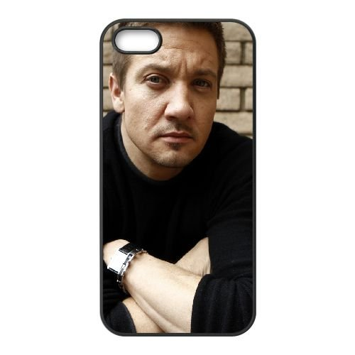 Jeremy Renner Face Hands Jacket Wall 61371 coque iPhone 5 5S cellulaire cas coque de téléphone cas téléphone cellulaire noir couvercle EOKXLLNCD24767