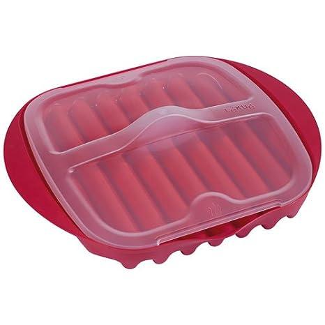Amazon.com: Lekue – Microondas Bacon Maker/cocina con tapa ...