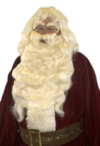 Deluxe 100% Yak Hair Santa Beard Set