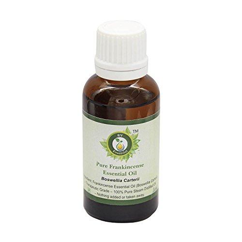 R V Essential El incienso puro esencial 30ml de aceite (1.01 oz)- Boswellia Carterii (100% puro y natural de Grado...
