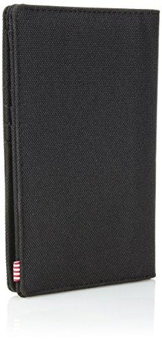 41PQSd6ynFL - Herschel Search RFID Passport Holder, black