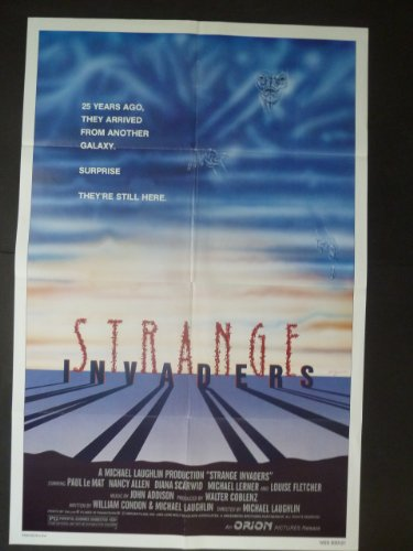 STRANGE INVADERS Movie Poster 1983/ Paul Le Mat, Nancy Allen, Diana Scarwid/THIS IS NOT A DVD