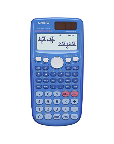 Casio FX-85GTPLUSBLUE Scientific Calculator (Old Model) replaced by the new  FX-85GTX Blue