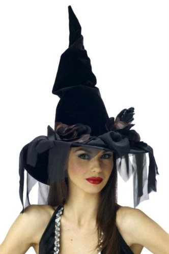 Costumes For All Occasions Mr167027 Witch Hat Deluxe Winding -